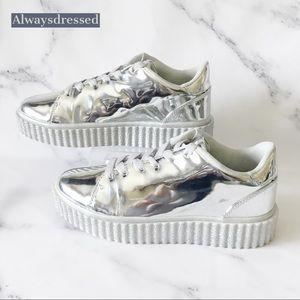 Qupid Chrome Sneaker